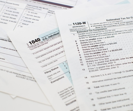 Income Tax Document photo