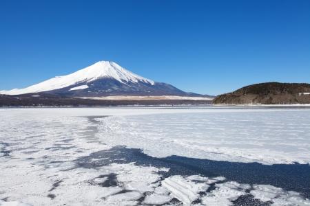 Montagne Fuji en hiver