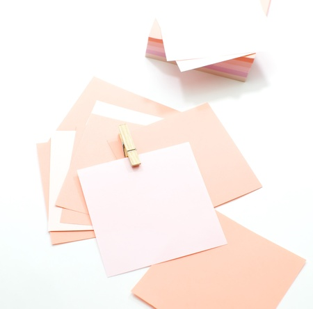 Sticker notes  Stock Photo - 17759430