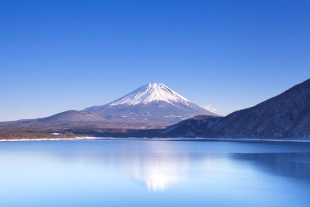 Mont Fuji en hiver