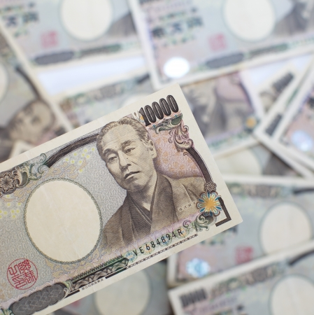 yen: Japanese YEN note Stock Photo