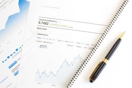 Rate of exchange  Stock Photo - 17853808