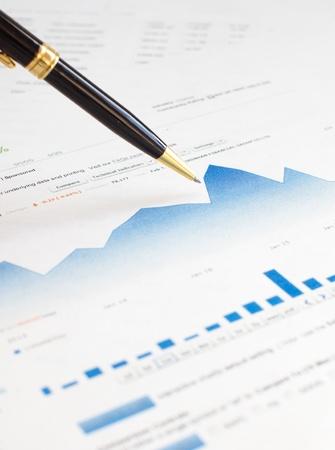 Monitoring of stock market graphs.