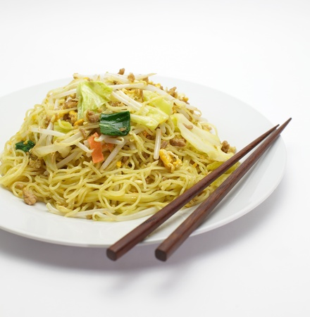 Chinese fried noodles  Stock Photo - 17853781