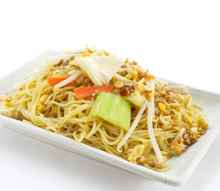 Chinese fried noodles Stock Photo - 17894999