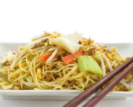 Chinese fried noodles Stock Photo - 17894998