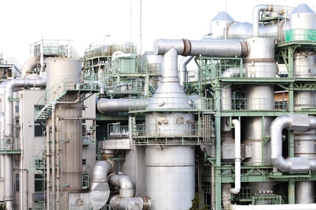 rafinery: petrochemical industrial plant