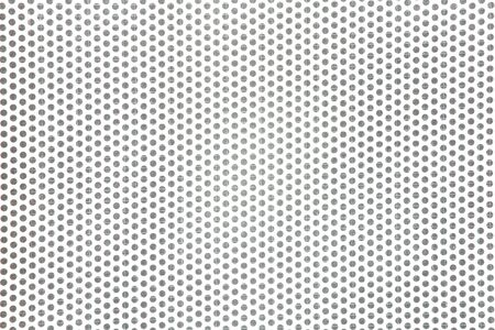 Full frame perforated steel plate for use as background  Stock Photo