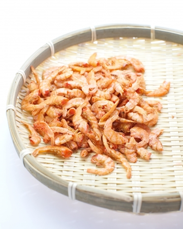 Small dry shrimp  Stock Photo - 18092356
