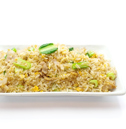 fried rice an excellent side order with chinese food  Stock Photo - 18148588