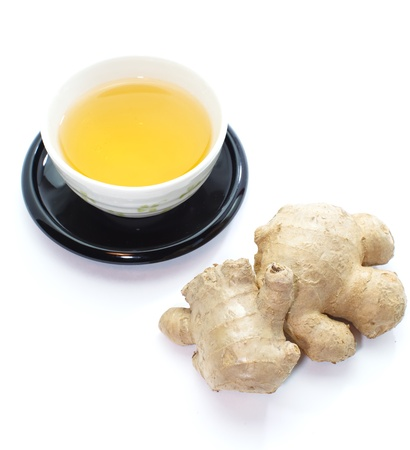 Ginger tea Stock Photo - 18238418