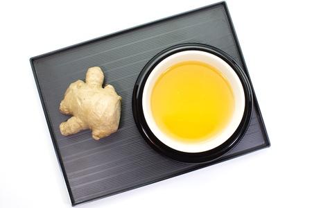 Ginger tea Stock Photo - 18238483