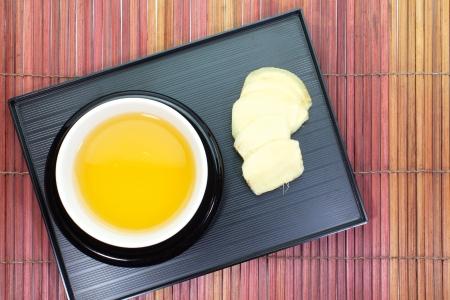 Ginger tea Stock Photo - 18238436