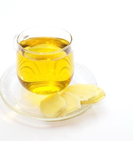Ginger tea Stock Photo - 18238404