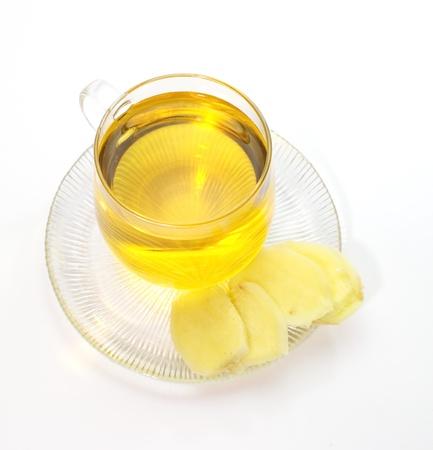 Ginger tea Stock Photo - 18238410