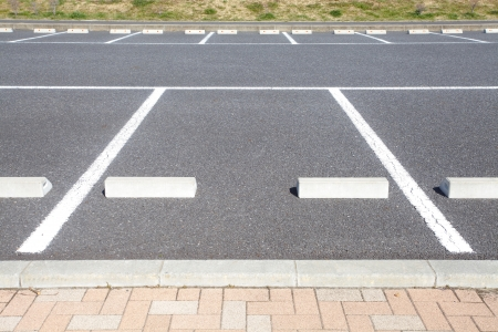 carpark: Empty Space in a Parking Lot