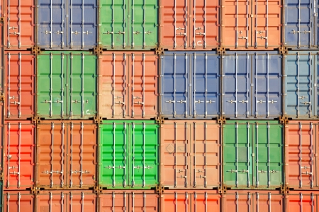 Containers shipping  photo