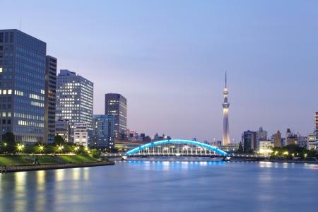 Tokyo skyline de Tokyo Sky Tree �ditoriale
