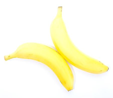 bannana: banana on a white background