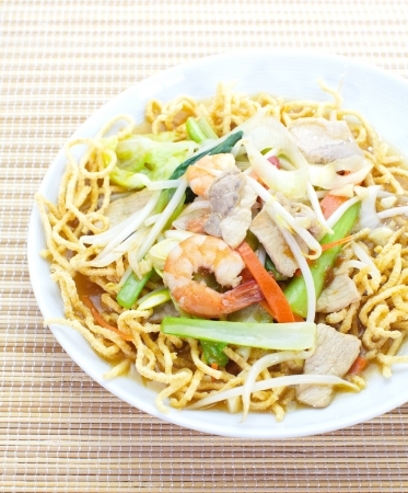 deep-fried noodles Stock Photo - 18878185