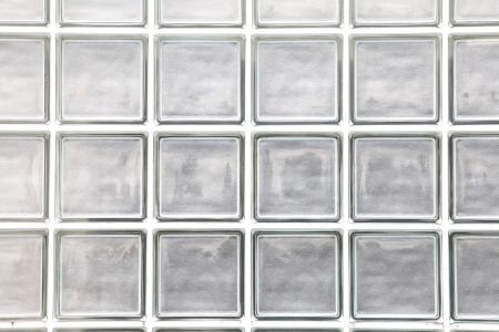 ガラス ブロック壁の背景