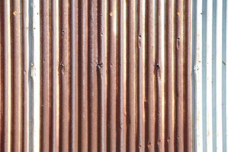 rusty corrugated iron metal texture Stock Photo - 18913604