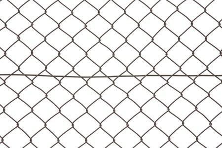 iron wire fence  photo