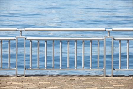 guard rail: Chrome Metal Guard Rail