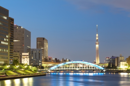 View of Tokyo Sky Tree photo
