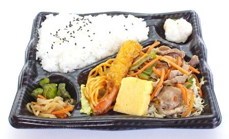 Japonais ready-made bo�te � lunch, Bento Banque d'images