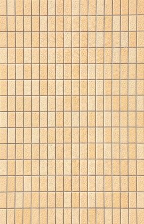 bulwark: Decorative yellow brick wall texture in horizontal view