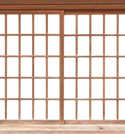 일본어 슬라이딩 종이 도어의 질감 쇼지 스톡 콘텐츠
