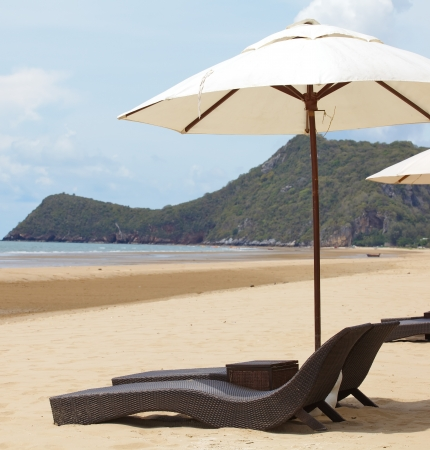 Beach Chairs  写真素材