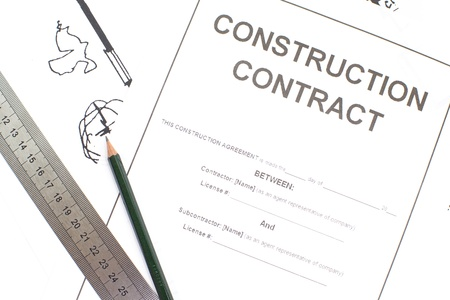 Construction Contract photo