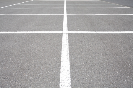 Empty Space in a Parking Lot  photo