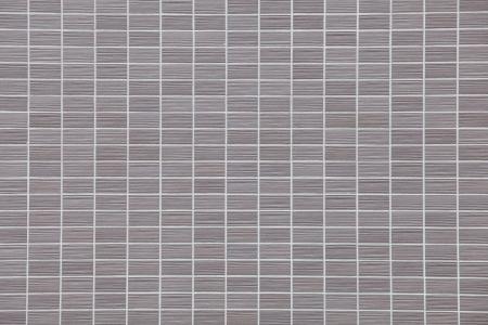 bulwark: Decorative gray brick wall texture in horizontal view  Stock Photo