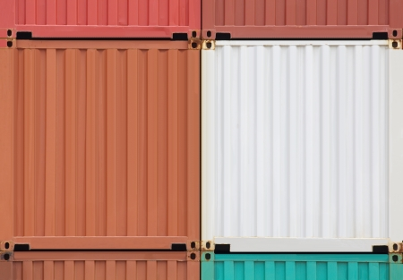 inter: Containers shipping  Stock Photo