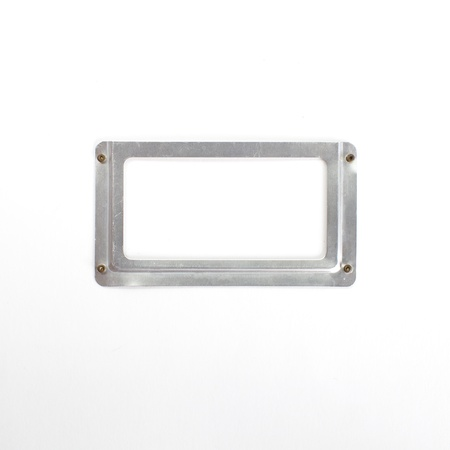 Close up of a blank , Label holder  photo