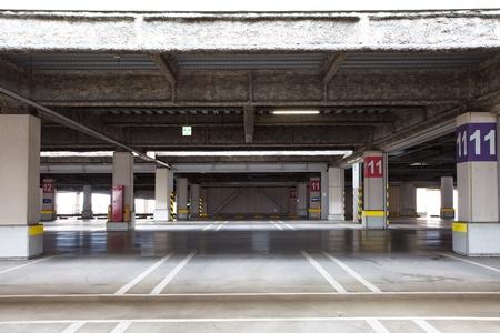 multi story car park: parking garage