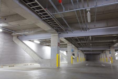 Parking garage underground