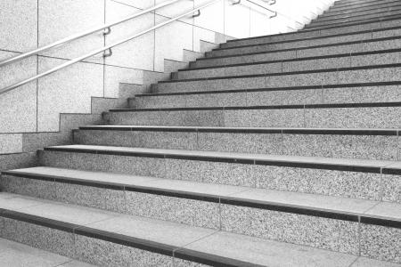 bajando escaleras: Escalera de hormig?n
