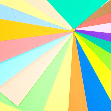 instigator: Colored papers background Stock Photo