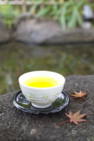 Green tea  photo