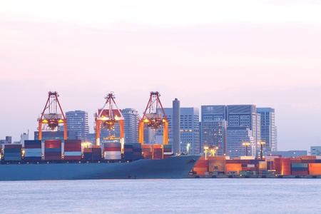 containership: container-ship