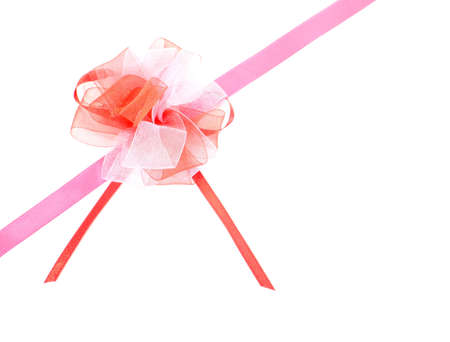 goodie: ribbon bow on white background