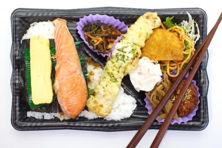 Japanese lunchbox,  bento box  photo