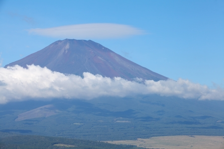 Mt Fuji in summer photo