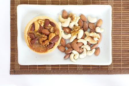 Mixed nut tart