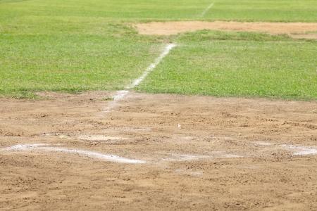 infield: Baseball Pitching mound