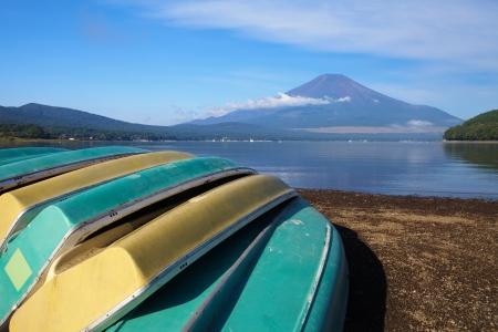 Mt Fuji in summer season  photo